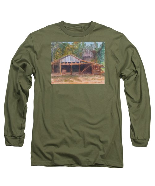 Alpine Groves Fruit Packing Shed Long Sleeve T-Shirt