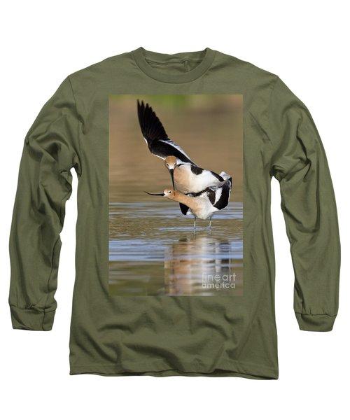 American Avocets Long Sleeve T-Shirt by Bryan Keil