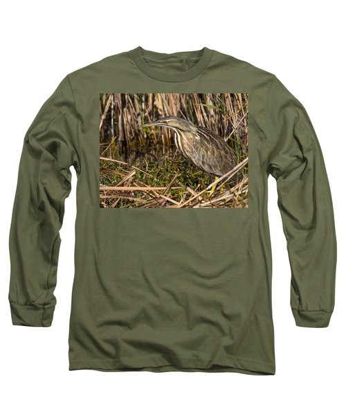 American Bittern Long Sleeve T-Shirt