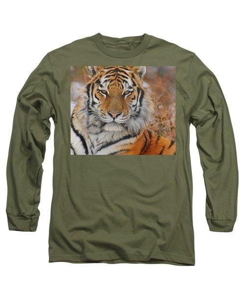 Amur Tiger Magnificence Long Sleeve T-Shirt