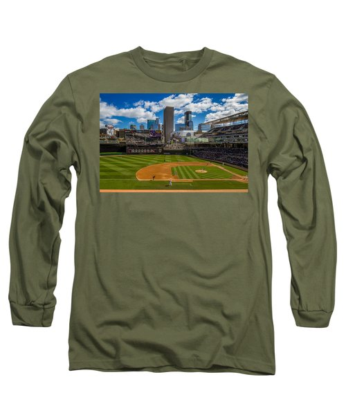 An Afternoon At Target Field Long Sleeve T-Shirt