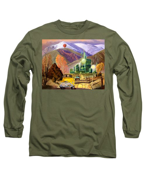Trucks In Oz Long Sleeve T-Shirt