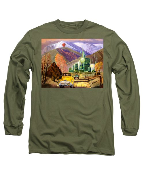 Trucks In Oz Long Sleeve T-Shirt