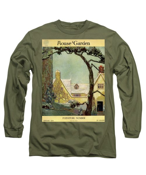 An English Country House Long Sleeve T-Shirt