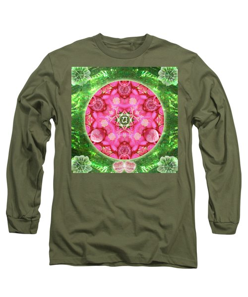Anahata Rose Long Sleeve T-Shirt