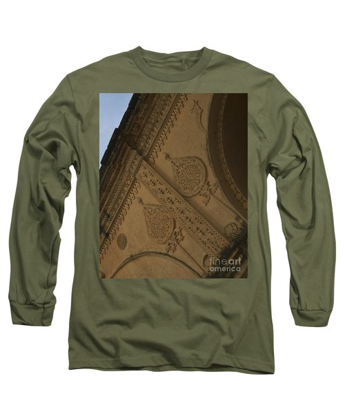 Long Sleeve T-Shirt featuring the photograph Ancient Wall by Mini Arora