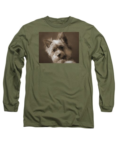 Long Sleeve T-Shirt featuring the photograph And The Little Princess by I'ina Van Lawick