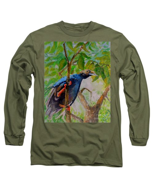 Angel Bird Of  North Moluccas Long Sleeve T-Shirt