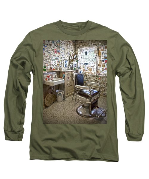 Angel Delgadillo's Barber Shop Long Sleeve T-Shirt