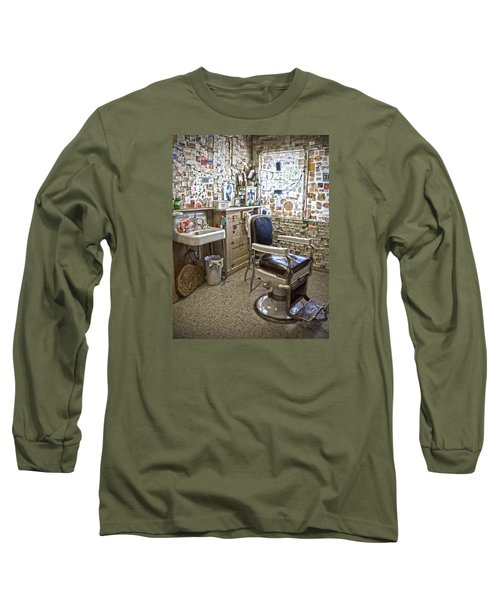 Angel Delgadillo's Barber Shop Long Sleeve T-Shirt