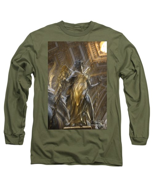 Angel In Motion Long Sleeve T-Shirt