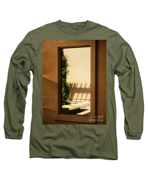 Angled Reflections2 Long Sleeve T-Shirt