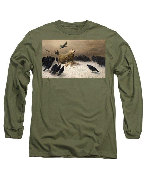 Anguish Long Sleeve T-Shirt
