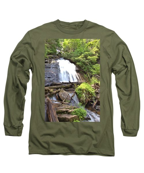 Anna Ruby Falls - Georgia - 4 Long Sleeve T-Shirt