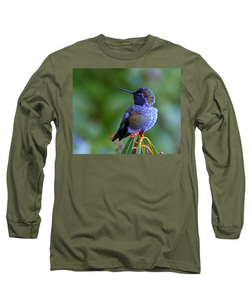 Annas Hummingbird Long Sleeve T-Shirt