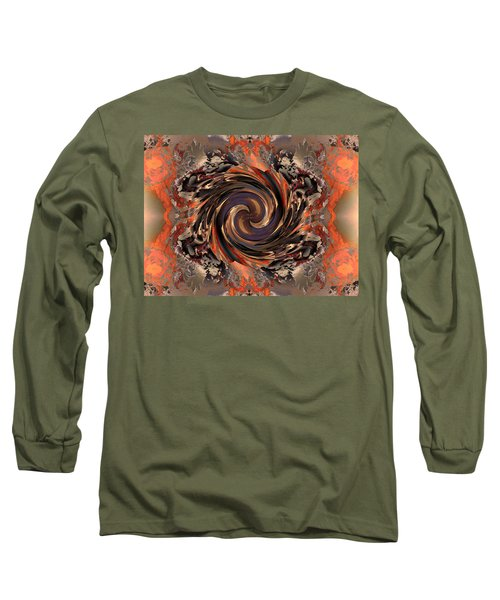 Another Swirl Long Sleeve T-Shirt by Claude McCoy