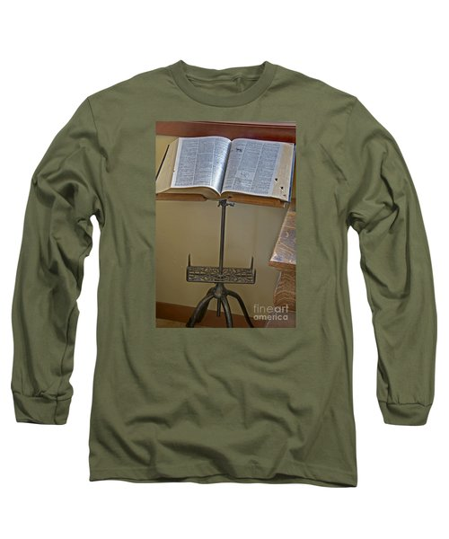 Antique Still Life Reading Stand Long Sleeve T-Shirt