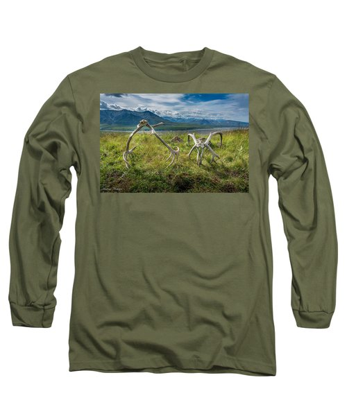 Antlers On The Hill Long Sleeve T-Shirt