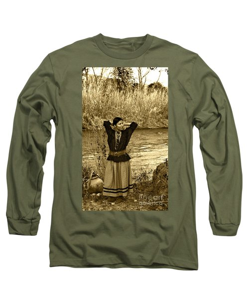 Apache River Maiden Long Sleeve T-Shirt