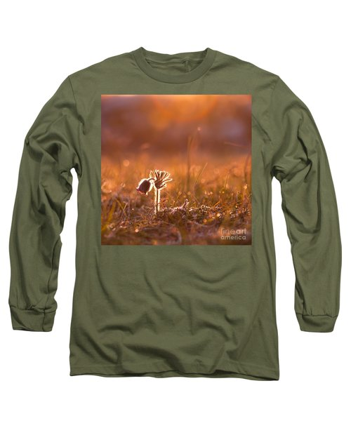 Long Sleeve T-Shirt featuring the photograph April Morning by Kennerth and Birgitta Kullman