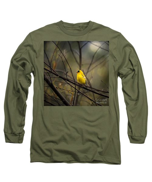 April Showers In Square Format Long Sleeve T-Shirt