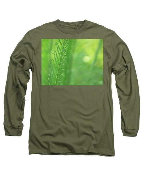 Long Sleeve T-Shirt featuring the photograph Arabesque by Evelyn Tambour
