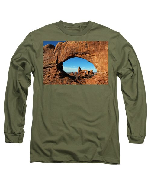 Long Sleeve T-Shirt featuring the photograph Arches National Park 61 by Jeff Brunton