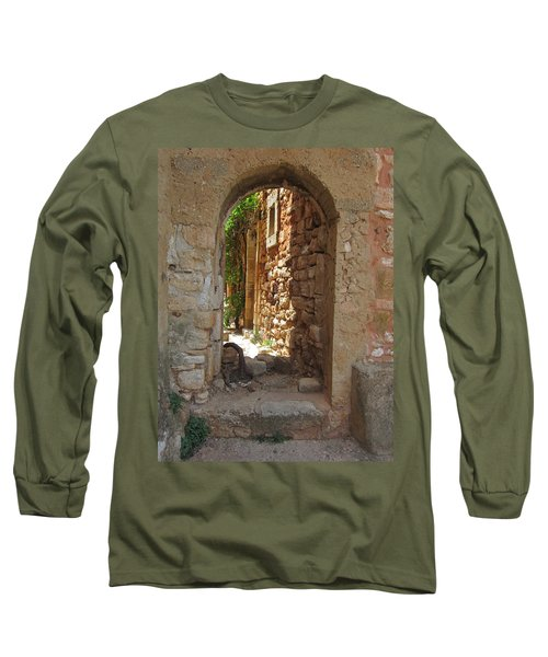 Long Sleeve T-Shirt featuring the photograph Archway by Pema Hou