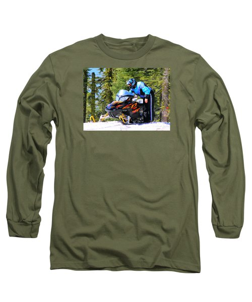 Arctic Cat Snowmobile Long Sleeve T-Shirt