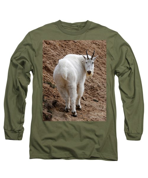 Long Sleeve T-Shirt featuring the photograph Are You Following Me by Vivian Christopher