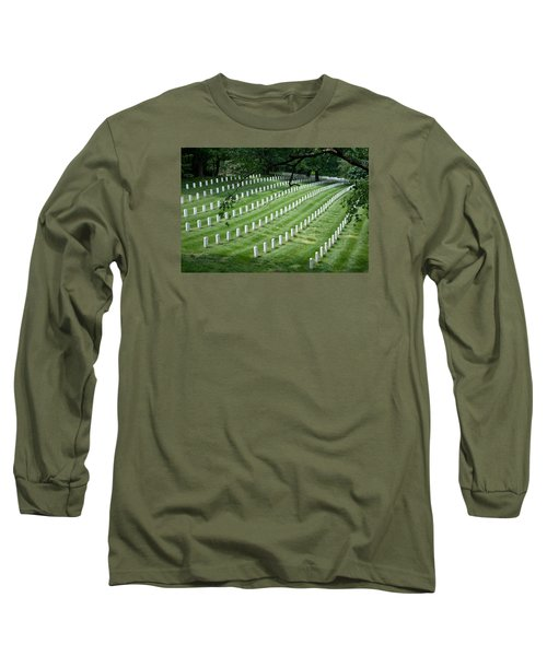 Long Sleeve T-Shirt featuring the photograph Arlington National Cemetery by Tim Stanley