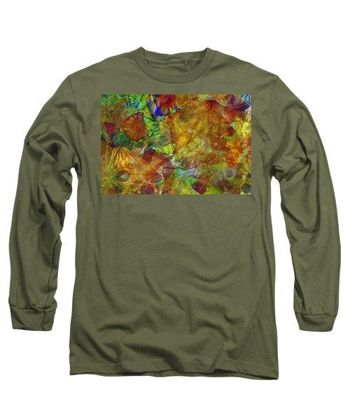Art Glass Overlay Long Sleeve T-Shirt