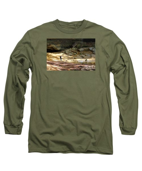 Ash Cave In Hocking Hills Long Sleeve T-Shirt