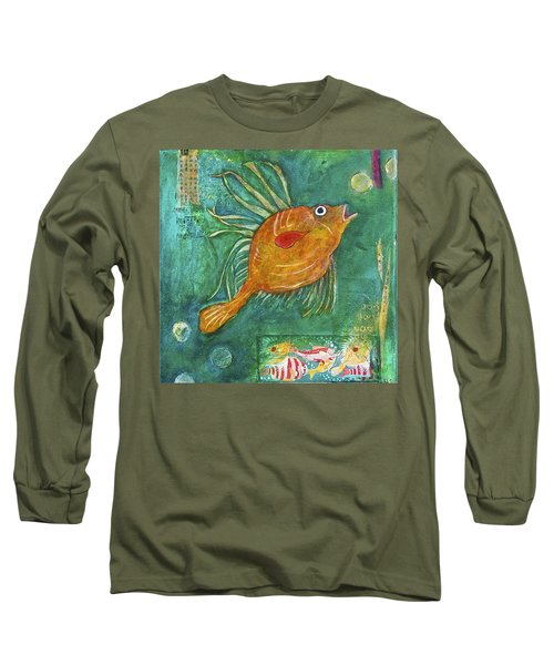 Asian Fish Long Sleeve T-Shirt