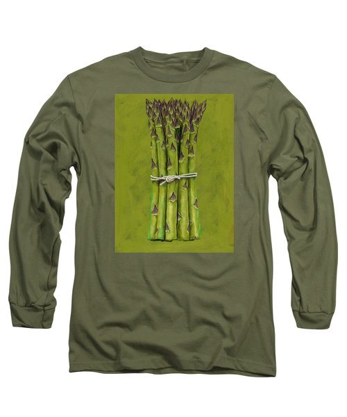 Asparagus Long Sleeve T-Shirt by Brian James