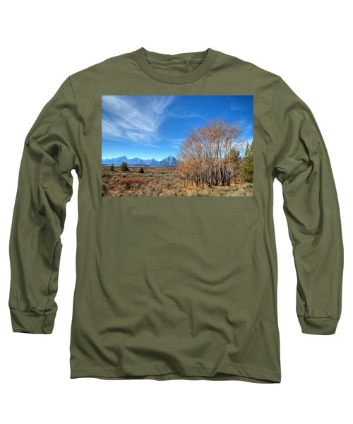 Long Sleeve T-Shirt featuring the photograph Aspen Last Stand  by David Andersen
