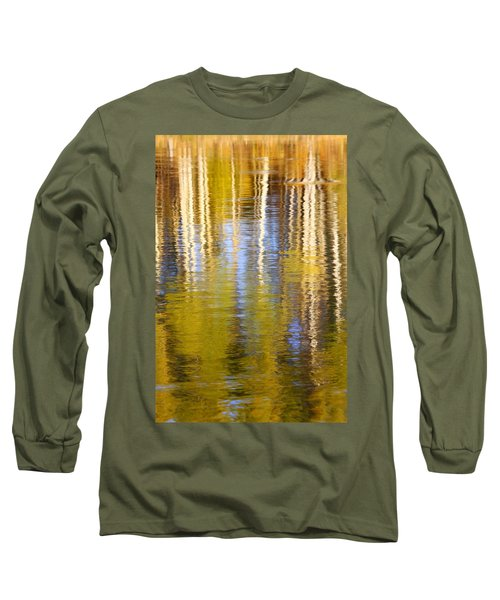 Aspen Reflection Long Sleeve T-Shirt by Kevin Desrosiers