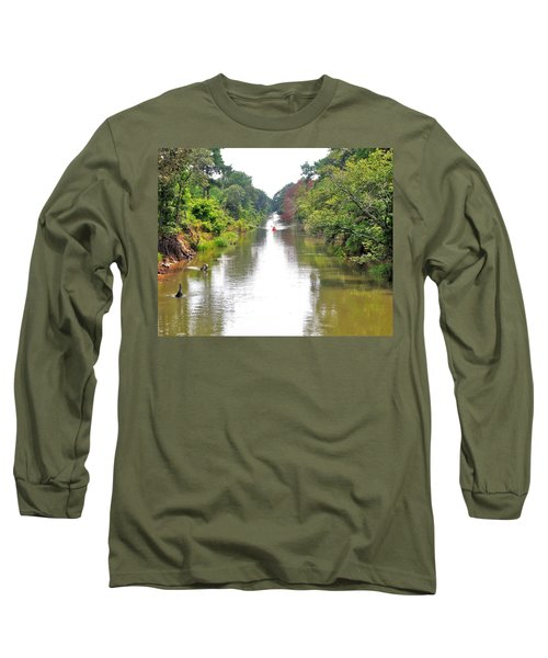 Assawoman Canal - Delaware Long Sleeve T-Shirt