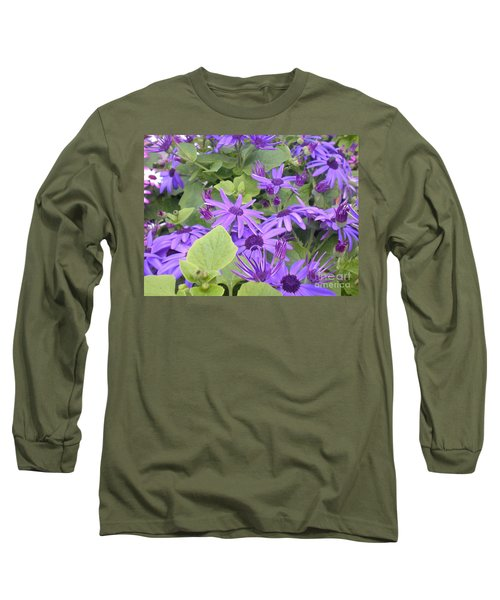 Asters Long Sleeve T-Shirt by Kim Prowse