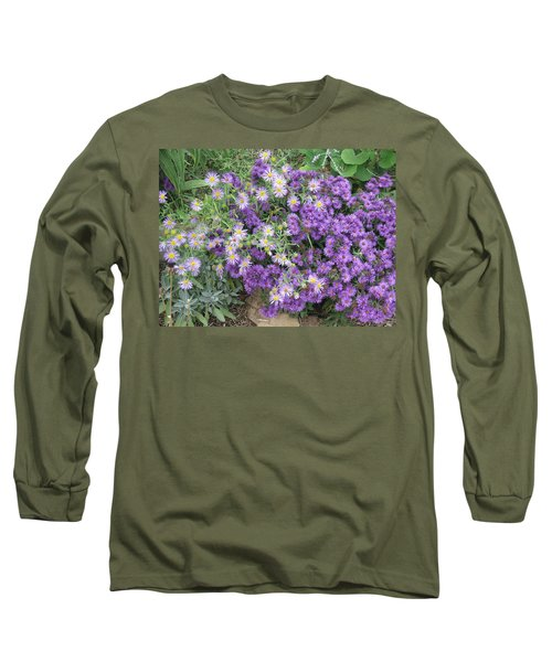Asters Light And Dark Long Sleeve T-Shirt