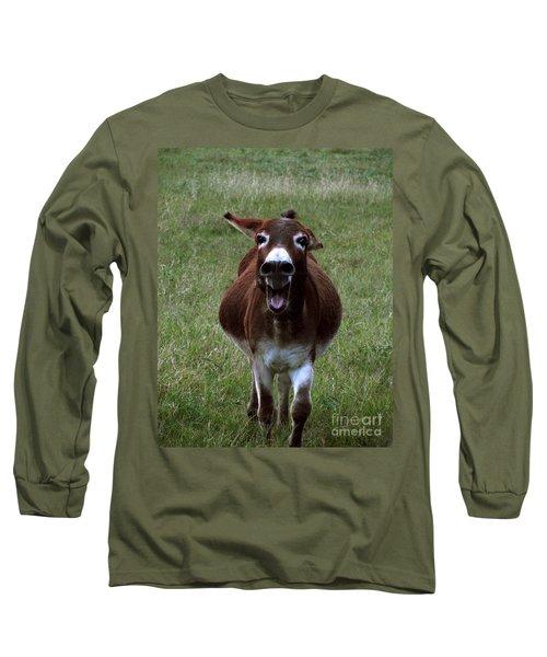 Long Sleeve T-Shirt featuring the photograph Attack by Peter Piatt