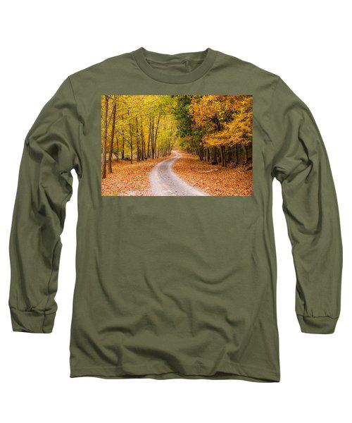 Autum Path Long Sleeve T-Shirt