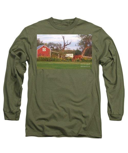 Autumn Abundance Long Sleeve T-Shirt by Susan Williams