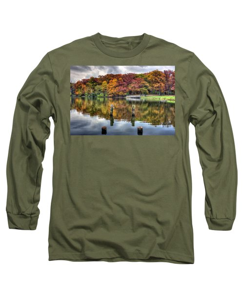 Autumn At The Pond Long Sleeve T-Shirt