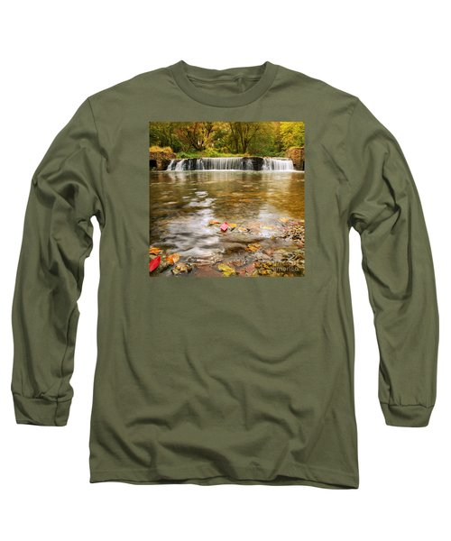 Long Sleeve T-Shirt featuring the photograph Autumn At Valley Creek by Rima Biswas