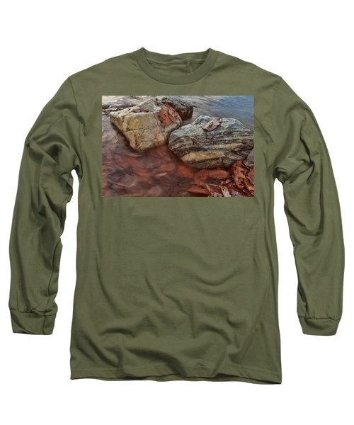 Long Sleeve T-Shirt featuring the photograph Autumn Drift by Jennifer Casey