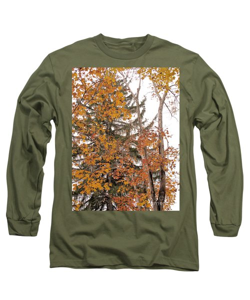 Long Sleeve T-Shirt featuring the photograph Autumn Gold by Sandy McIntire
