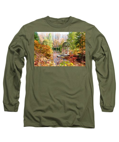 Autumn In Longwood Gardens Long Sleeve T-Shirt