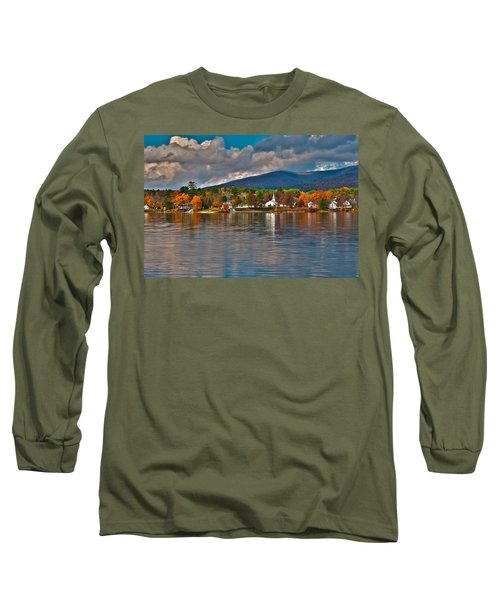 Autumn In Melvin Village Long Sleeve T-Shirt