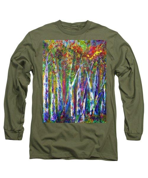 Autumn In Muskoka Long Sleeve T-Shirt